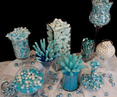 Blue Candy Buffet but like the simple display for any wedding color