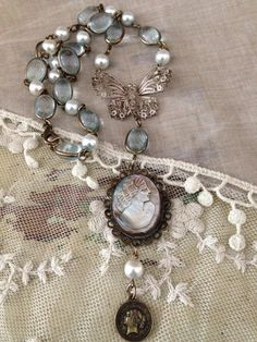Assemblage Reclaimed Victorian Jewelry