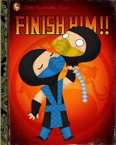 "Joey Spiotto ""Finish Him!!"" Framed Print"