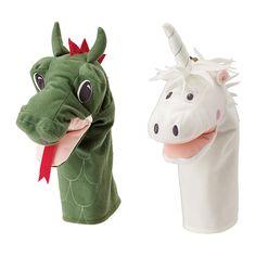 Stocking Stuffers - Ikea puppets $3.99