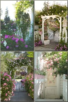 Romantic Homes Paintings And Roses On Pinterest Garden