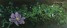 Anemone, 2018 x 71 cm. Plants, Naturaleza, Paintings, Artists, Planters, Plant, Planting