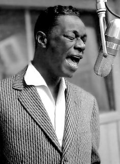 Nat King Cole. Smooth-as-silk vocals.