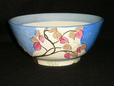 Clarice Cliff Bizarre Ware For Wilkinson Deco Bowl Rare Susie Cooper, Clarice Cliff, Ceramic Artists, Art Deco, Pottery, Porcelain, China, Ebay, Vintage