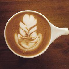#coffeeart #cappuccino #coffee #latteart #rosetta by guyfawkes_23