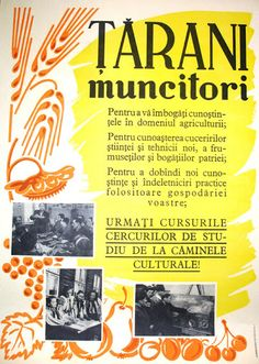 Below are presented few posters of romanian communist propaganda. Socialist State, Socialism, Romanian People, Communist Propaganda, Warsaw Pact, Romania Travel, Central And Eastern Europe, Travel Posters, The Past