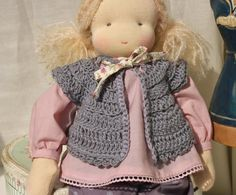 Madelon, a 16'' Waldorf inspired doll by FRdoll on Etsy