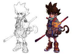 Goku by milkyliu on DeviantArt