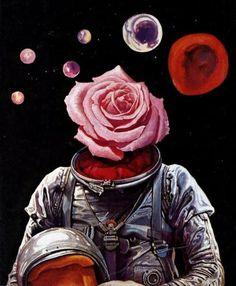 Josh Kirby, 1970 http://70sscifiart.tumblr.com/post/165073080390