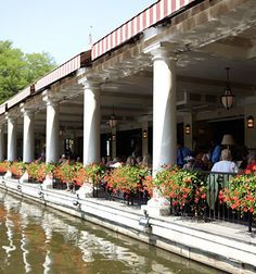 Loeb Boathouse Restaurant Central Park New York City New York - Central park on east 72nd street