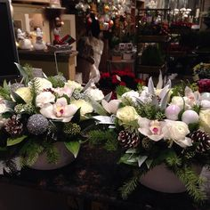 awesome vancouver florist Let's share some of my work...it has been super busy! #photooftheday #orchids #holiday #floraldesign #s_sparkleslights by @s_sparklelights  #vancouverflorist #vancouverflorist #vancouverwedding #vancouverweddingdosanddonts
