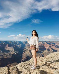Instagram의 @jsunny_3님:  . . . . #여행 #traveling #trip #travel #selfie #selca #셀피 #셀카 #여행 #grandcanyon #nationalpark #park #arizona #그랜드캐년