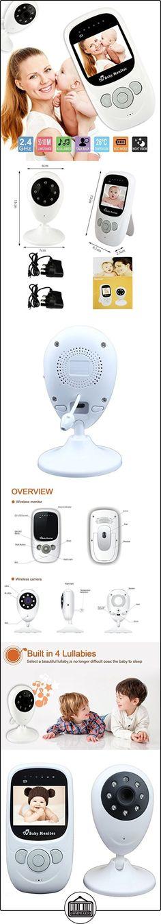 Nuevo monitor del bebé de 2.4 pulgadas visión nocturna del IR LCD de 2 vías de conversación 4 canciones de cuna de monitor de temperatura de 2,4 GHz inalámbrico digital de monitor de bebé  ✿ Vigilabebés - Seguridad ✿ ▬► Ver oferta: http://comprar.io/goto/B0191FRDOA