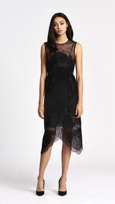 alice McCALL Talk The Talk Dress Black