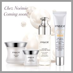"Nouvelle gamme Payot ""uni Skin"""