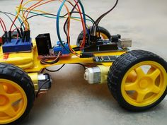 Build your own Arduino-based, Bluetooth-controlled RC car. Find this and other hardware projects on Hackster. Blue Tooth, Development Board, Rc Cars, Arduino, Robot, Phone, Projects, Log Projects, Bluetooth