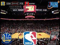 NBA 2016/17: Golden State Warriors 113-111 Portland Trail Blazers