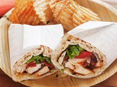 Sandwichs roulés au poulet créole
