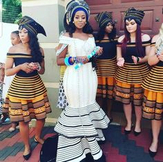 Xhosa traditional attire is another stripe of greatness in Africa yet the world's style trade. Like existing notable African prints and kitenge,Xhosa attire Wedding Dresses South Africa, African Wedding Attire, African Attire, African Outfits, African Weddings, Latest African Fashion Dresses, African Print Dresses, African Dress, African Prints