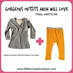 Ethical clothes from newborn to four years old; beautiful outfits that make a perfect gift.