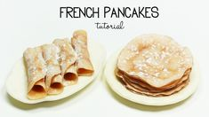 Hottest No Cost Polymer clay crafts french Concepts polymer clay French Pancakes / Crepes TUTORIAL Polymer Clay Miniatures, Fimo Clay, Polymer Clay Charms, Polymer Clay Art, Barbie Food, Doll Food, Miniature Crafts, Miniature Food, Miniature Tutorials
