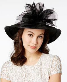 a13305494a8 August Hats Orchid Wide Brim Hat Handbags   Accessories - Macy s