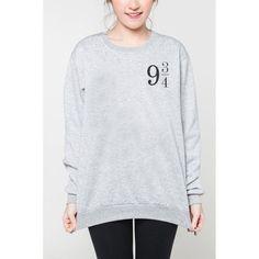 Plataforma de la venta caliente 9 3/4 Hoodies de las mujeres harry potter camiseta de manga larga sudaderas con capucha sudaderas