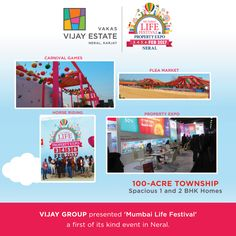 A Landmark Event in Neral which was no less than our Landmark project #MumbaiLifeFestival