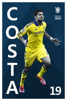 Diego Costa of Chelsea wallpaper. Chelsea Players, Chelsea Fans, Chelsea Football, Soccer Art, Football Soccer, Football Shirts, Chelsea Champions, Chelsea Wallpapers, Diego Costa