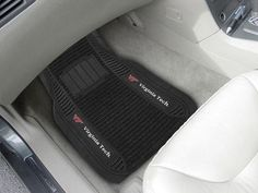Deluxe Car Floor Mat Set - Virginia Tech