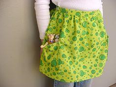 Child's half apron