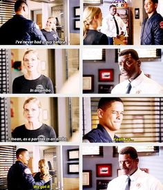 Brett: Ive never had a guy before. In an ambo. I mean, as a partner in an ambo. Mills: Yeah, we... we got it. 3x04