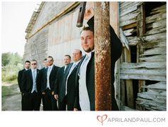 Groomsmen Wedding Pose