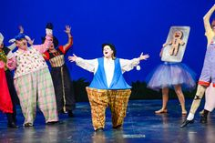 Callie Cabe as Humpty Dumpty in Shrek the Musical. #CdaSummerTheatre #ShrektheMusical #ProfessionalMusicalTheatre