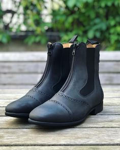 Short Boots, Design Your Own, Ankle, Model, Shoes, Collection, Black, Fashion, Low Boots