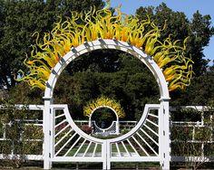 Ceremony Location - Gladney Rose Garden Missouri Botanical Garden