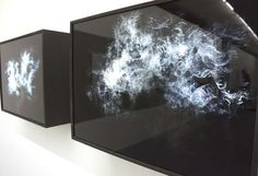'psukhe' , two layers of digital printed drawings on perspex over light box, 80 x 50 cm Lightbox Art, Felix Gonzalez Torres, Black Photography, Public Art, Installation Art, Digital Prints, Digital Art, Light In The Dark, Sculpture Art