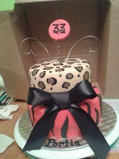 Girly Birthday Cake!  http://www.facebook.com/goaheadbakemyday