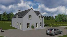 DORM148 House Designs Ireland, Exterior Design, Modern Farmhouse, Building A House, Irish, House Plans, Mansions, House Styles, Interior
