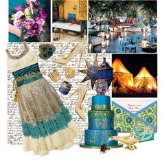 aladdin themed wedding decorations