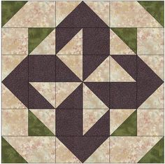 Block of the month pattern homepage with pictures of all the blocks #quilting #patchwork