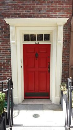 Red door colonial entry & Colonial and Federal Homes Georgetown was founded in 1751. As such ... Pezcame.Com