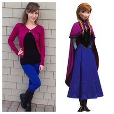 Anna disney bound for frozen day Disney Princess Outfits, Disney Dress Up, Disney Themed Outfits, Disney Clothes, Disneyland Outfit Summer, Anna Disney, Frozen Disney, Lego Frozen, Disney 2017