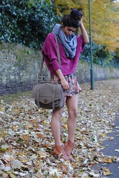 Perf for me in the fall cause my legs never get cold
