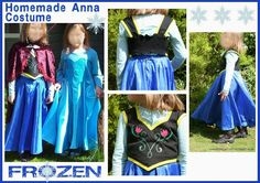 stompys craft: Anna from Frozen - Homemade Costume.