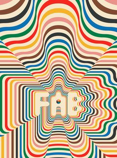 Creative Siggi, Eggertsson, -, Psychedelic, and Illustration image ideas & inspiration on Designspiration Cover Design, Ok Design, Print Design, Type Design, Design Trends, Pattern Design, Magazin Design, Grafik Design, Community Art