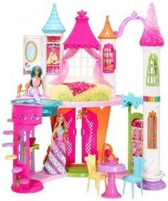 Barbie Dreamtopia Dwupoziomowy Pałac Słodkości DYX32