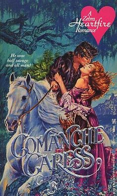 Comanche Caress by Cheryl Black. Free Romance Books, Romance Novel Covers, Romance Art, Vintage Romance, Vintage Books, Pulp Fiction Art, Fiction Novels, Book Cover Art, Book Covers