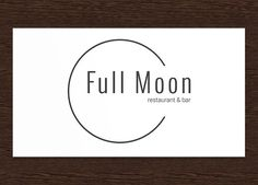 Full Moon Restaurant Logo - PSD by Studio 365 Designs on @creativemarket