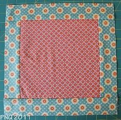 How to Attach Borders or Sashing to #quilts #tutorial by @Natalia Bonner from Piece N Quilt
